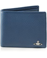 Vivienne Westwood - Tumbled Leather Milano Wallet - Lyst