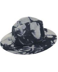 Travaux En Cours - Marble Felt Fedora Hat - Lyst