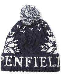 Penfield - Penfield Dumont Bobble Hat - Lyst