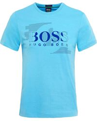 BOSS - Regular Fit Tee 1 T-shirt - Lyst