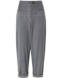 Oska - Steja Checked Trousers - Lyst