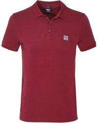 BOSS Orange - Slim Fit Passenger Polo Shirt - Lyst
