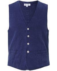 Stenstroms - Dyed Linen Waistcoat - Lyst