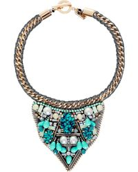 Butterfly - Beaded Soho Necklace - Lyst