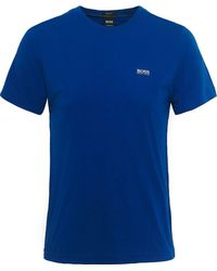 BOSS - Regular Fit Crew Neck Tee T-shirt - Lyst