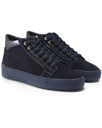 Android Homme - Suede Mid-top Propulsion Trainers - Lyst