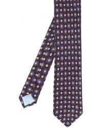 Stenstroms - Floral Silk Tie - Lyst