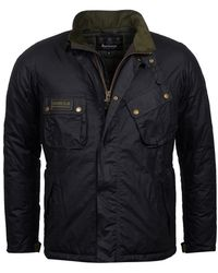 Barbour - Waxed Lever Jacket - Lyst