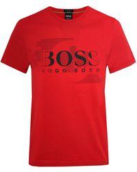 BOSS - Regular Fit Tee 1 T-shirt - Lyst