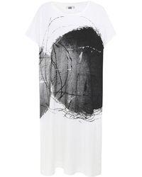 Moyuru - Oversized Printed Dress - Lyst
