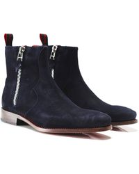 Jeffery West - Suede Vamp Hunger Boots - Lyst