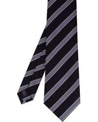 Amanda Christensen - Stripe Silk Tie - Lyst