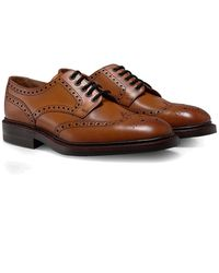 Loake | Leather Chester Brogues | Lyst