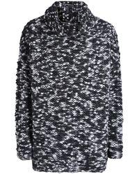 Sarah Pacini - Merino Wool Oversized Bobble Jumper - Lyst