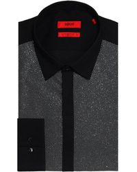 HUGO - Extra Slim Fit Easto Dress Shirt - Lyst