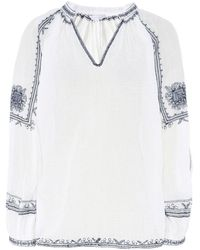 Star Mela - Sami Embroidered Top - Lyst