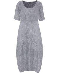 Grizas - Linen Textured T-shirt Dress - Lyst