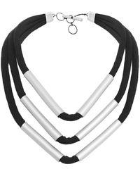 Christina Brampti - Multi Strand Tube Necklace - Lyst