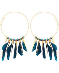 Gas Bijoux - Marly Hoop Earrings - Lyst