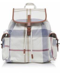 Barbour - Summer Dress Tartan Backpack - Lyst