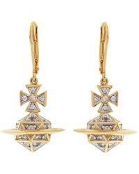 Vivienne Westwood - Bessie Orb Earrings - Lyst