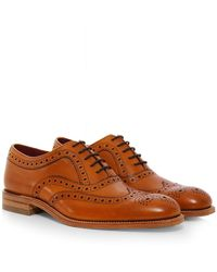 Loake | Calf Leather Fearnley Brogues | Lyst