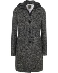 Creenstone - Herringbone Tweed Coat - Lyst