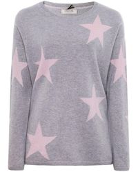 Cocoa Cashmere - Shimmering Star Cashmere Jumper - Lyst