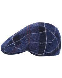 Barbour - Wool Tweed Moons Cap - Lyst