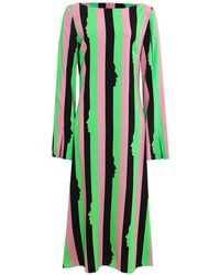 Vivetta - Miram Striped Midi Dress - Lyst