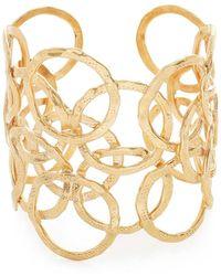 Gas Bijoux - Olympie Cuff Bracelet - Lyst