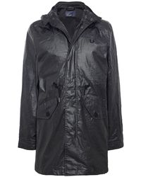 Fred Perry - Coated Fishtail Parka - Lyst