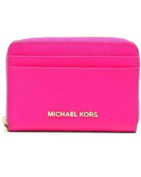 MICHAEL Michael Kors - Jet Set Travel Continental Wristlet - Lyst