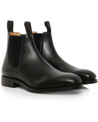 Loake | Leather Chatsworth Chelsea Boots | Lyst