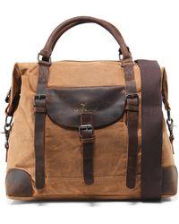 Gandys - Waxed Standard Weekend Bag - Lyst