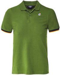 K-Way - Slim Fit Vincent Polo Shirt - Lyst