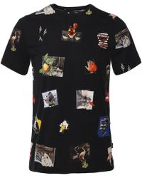 PS by Paul Smith - Harold's Photos Printed T-shirt - Lyst