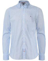 Tommy Hilfiger - Essential Pinstripe Cotton Shirt - Lyst