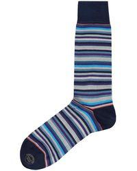 Effio - Uniform Striped Socks - Lyst