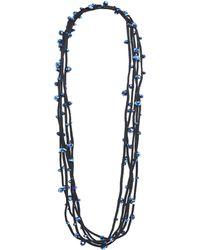 Jianhui - Multi Strand Crystal Necklace - Lyst