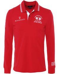 La Martina - Long Sleeve Brigham Polo Shirt - Lyst