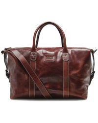 Loake - Leather Balmoral Weekend Bag - Lyst