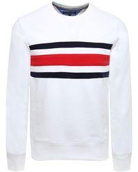 Tommy Hilfiger - Chest Stripe Sweatshirt - Lyst