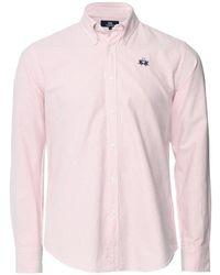 La Martina - Regular Fit Pepe Stripe Shirt - Lyst