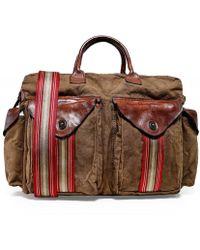 Canvas Travel Bag - Marron