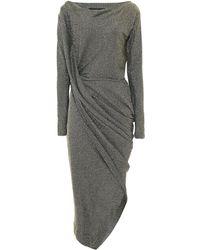 Vivienne Westwood Anglomania - Long Sleeve Vian Dress - Lyst