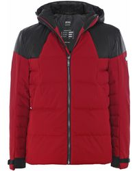 BOSS Athleisure - Down Quilted Jeiko Jacket - Lyst