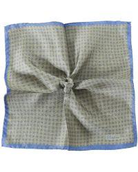 Stenstroms - Silk Patterned Pocket Square - Lyst