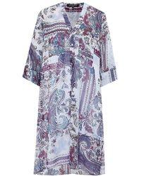 Ilse Jacobsen - Chiffon Paisley Shirt Dress - Lyst