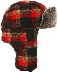 303b8db1cc0 Paul Smith · Stetson - Tartan Wool Caerrville Trapper Hat - Lyst